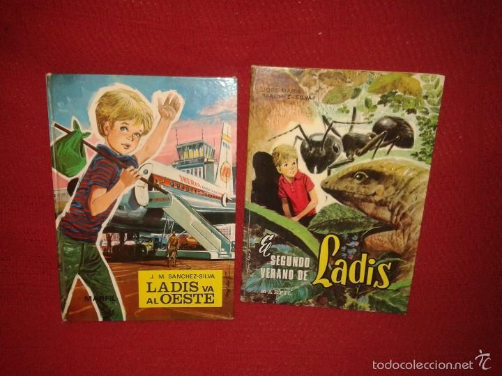 CUENTOS LADIS VA AL OESTE Y EL SEGUNDO VERANO DE LADIS - EDITORIAL MARFIL 1968 (Libros de Segunda Mano - Literatura Infantil y Juvenil - Cuentos)