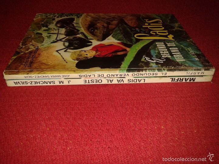Libros de segunda mano: CUENTOS LADIS VA AL OESTE Y EL SEGUNDO VERANO DE LADIS - EDITORIAL MARFIL 1968 - Foto 2 - 58113380