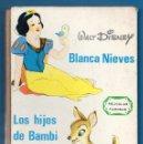 Libros de segunda mano: WALT DISNEY PRODUCTIONS - BLANCA NIEVES - LOS HIJOS DE BAMBI - EDIC. GAISA - AÑO 1968 - 60 PAGS. Lote 58157563