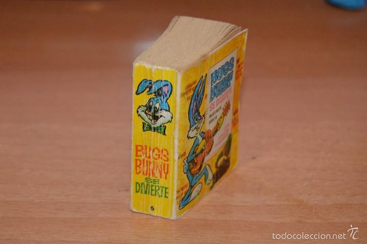 Libros de segunda mano: MINI INFANCIA Nº 6 - BUGS BUNNY SE DIVIERTE - 1ª EDICION MARZO DE 1968 - Foto 3 - 58160694