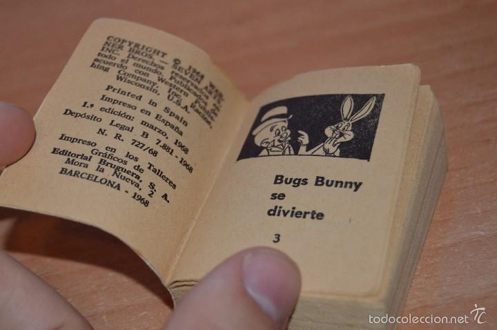 Libros de segunda mano: MINI INFANCIA Nº 6 - BUGS BUNNY SE DIVIERTE - 1ª EDICION MARZO DE 1968 - Foto 5 - 58160694