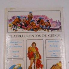 Libros de segunda mano: CUATRO CUENTOS DE GRIMM. COLECCION ANDERSEN. VERSION R.S. TORROELLA. TIMUN MAS 1972. TDK294. Lote 131607514