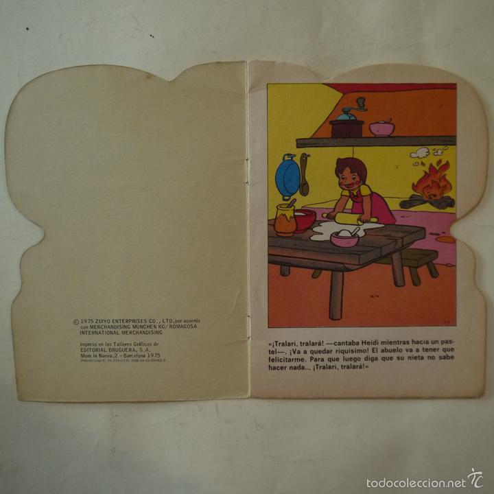Libros de segunda mano: HEIDI EN UN PASTEL MUSICAL - EDITORIAL BRUGUERA - 1975 - Foto 2 - 58269341