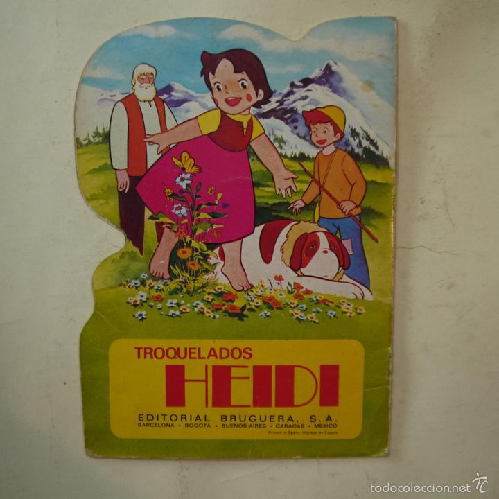 Libros de segunda mano: HEIDI EN UN PASTEL MUSICAL - EDITORIAL BRUGUERA - 1975 - Foto 5 - 58269341