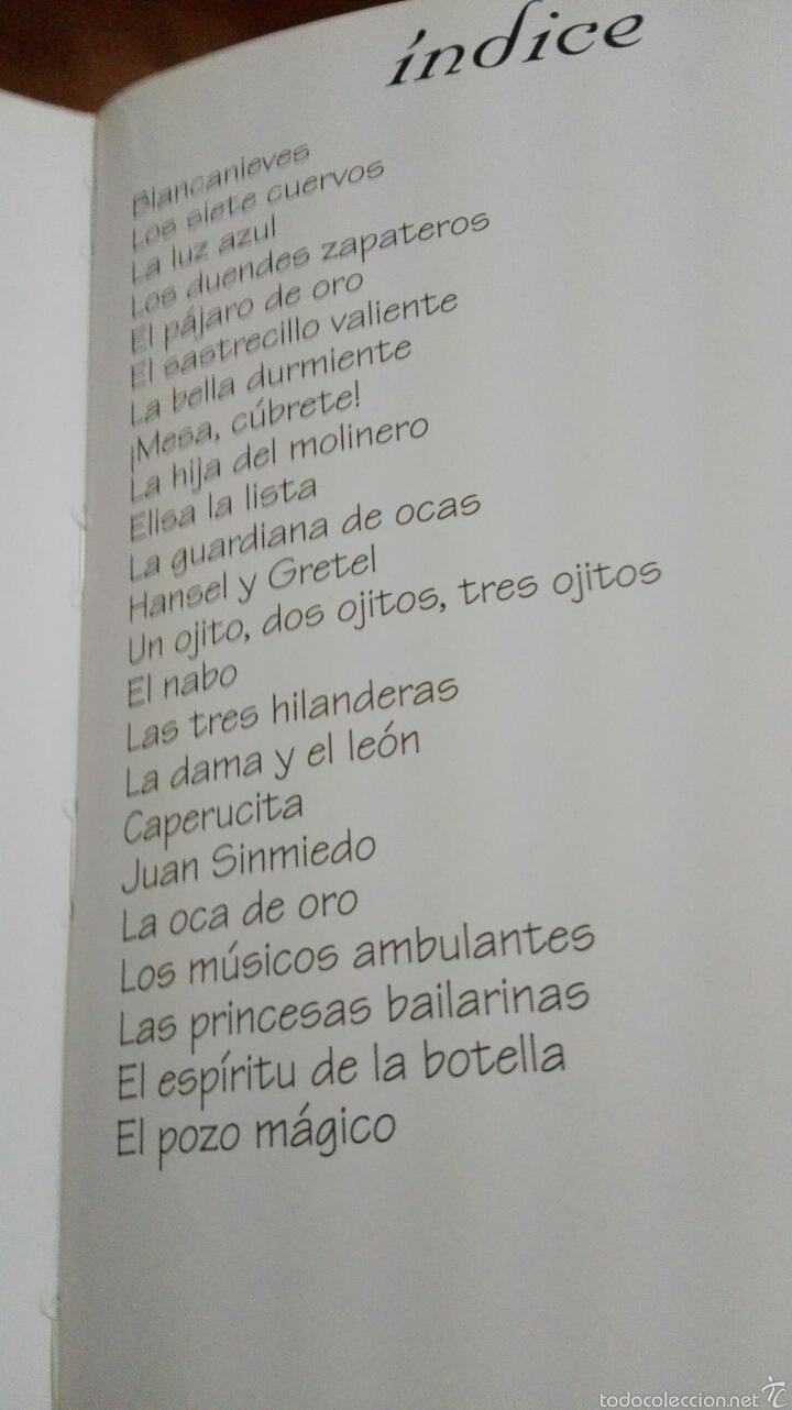 Libros de segunda mano: C62 TODOLIBRO CUENTOS DE GRIMM TAPA DURA ACOLCHADA - Foto 5 - 58439217
