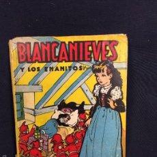 Libros de segunda mano: BLANCANIEVES Y LOS SIETE ENANITOS COLECCIÓN PARA LA INFANCIA EDITORIAL BRUGUERA AMAT MESTRES 22,5CM. Lote 58569982