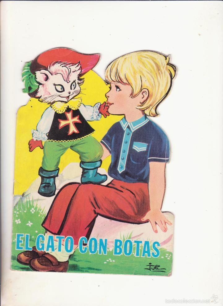 CUENTO TROQUELADO EL GATO CON BOTAS (Libros de Segunda Mano - Literatura Infantil y Juvenil - Cuentos)