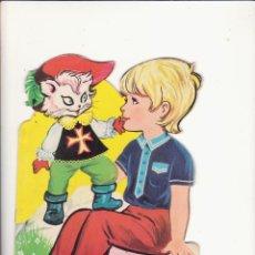Libros de segunda mano: CUENTO TROQUELADO EL GATO CON BOTAS. Lote 58612685
