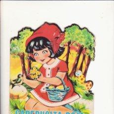 Libros de segunda mano: CUENTO TROQUELADO CAPERUCITA ROJA. Lote 58612725