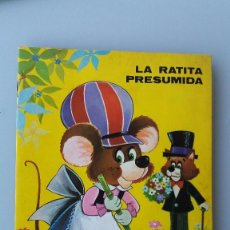 Libros de segunda mano: ANTIGUO CUENTO DE EDITORIAL ROMA LA RATITA PRESUMIDA AÑO 1973 DIORAMA EN MUY BUEN ESTADO ORIGINAL. Lote 59528955