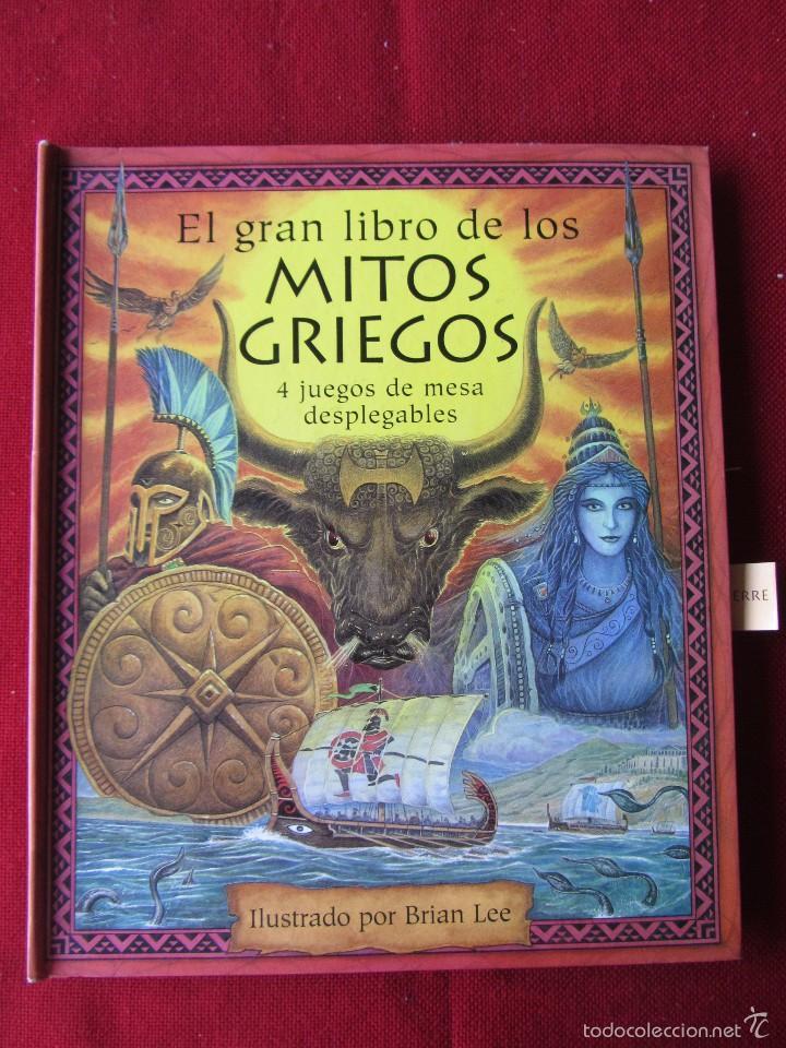 El Gran Libro De Los Mitos Griegos - Libros Afabetización