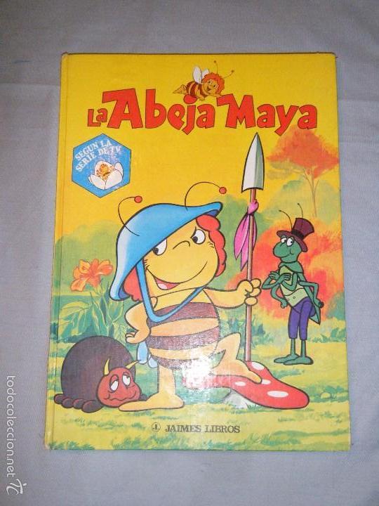 LA ABEJA MAYA. EDITADO POR JAIME LIBROS,SA. 1978 (Libros de Segunda Mano - Literatura Infantil y Juvenil - Cuentos)