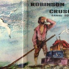 Libros de segunda mano: ROBINSON CRUSOE (PRIMEROS CUENTOS MOLINO, 1962) ILUSTRADO POR CORREAS. Lote 60038447