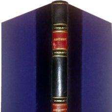 Libros de segunda mano: ANUCHKA Y FAUSTO : (HISTORIA EN NUEVE CARTAS) / IVÁN TURGUENEFF. Lote 61040227