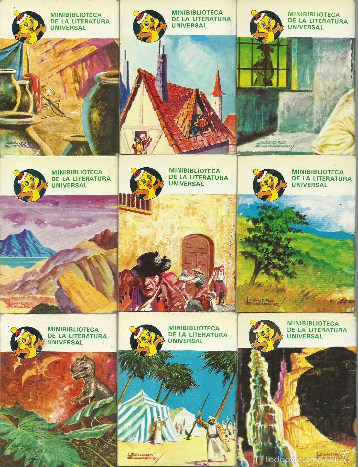 Libros de segunda mano: ocasion coleccion de 33 minilibros de la Minibiblioteca de la Literatura Universal 1982 Petete fotos - Foto 5 - 57931929
