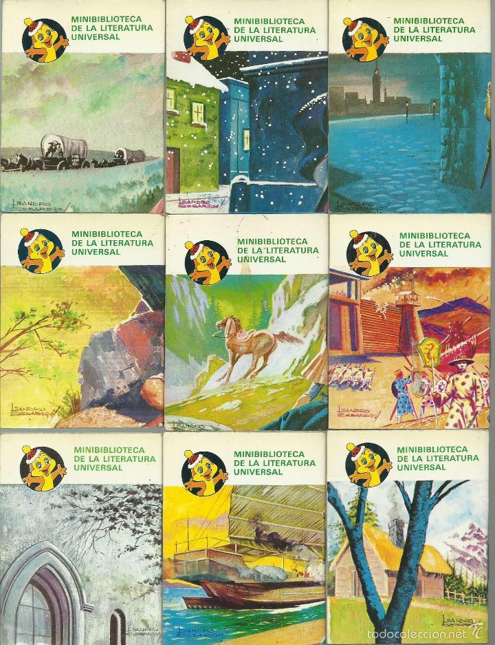 Libros de segunda mano: ocasion coleccion de 33 minilibros de la Minibiblioteca de la Literatura Universal 1982 Petete fotos - Foto 6 - 57931929