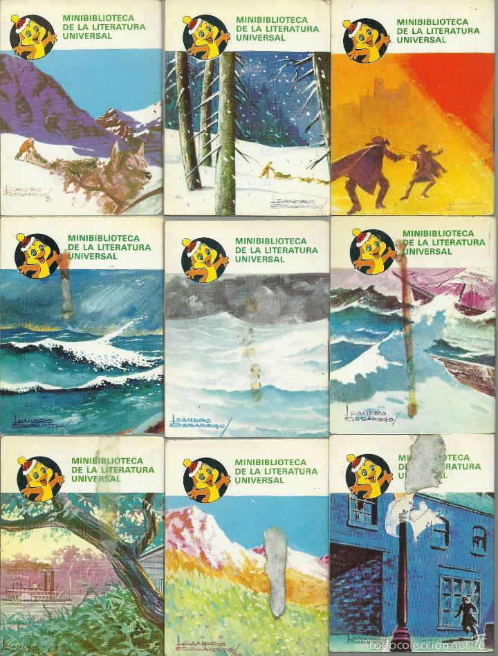 Libros de segunda mano: ocasion coleccion de 33 minilibros de la Minibiblioteca de la Literatura Universal 1982 Petete fotos - Foto 7 - 57931929