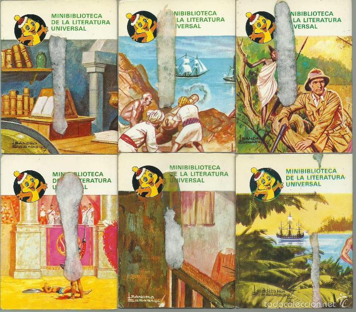 Libros de segunda mano: ocasion coleccion de 33 minilibros de la Minibiblioteca de la Literatura Universal 1982 Petete fotos - Foto 8 - 57931929