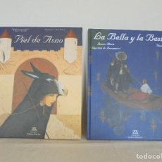 Libros de segunda mano: LA BELLA Y LA BESTIA. JEANNE MARIE LEPRINCE BEAUMMOT. PIEL DE ASNO. ANNE ROMBY. ZENDRERA ZARIQUIEY.. Lote 210127502