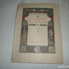 Libros de segunda mano: LOS TERRIBLES GIGANTES BARBUDOS. CUENTOS DE PLATA. ED. SATURNINO CALLEJA (1940). Lote 61543956
