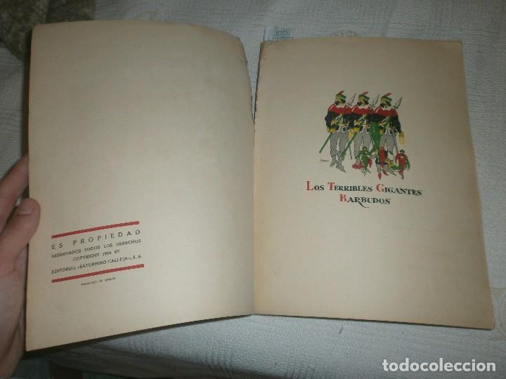 Libros de segunda mano: LOS TERRIBLES GIGANTES BARBUDOS. CUENTOS DE PLATA. ED. SATURNINO CALLEJA (1940) - Foto 2 - 61543956