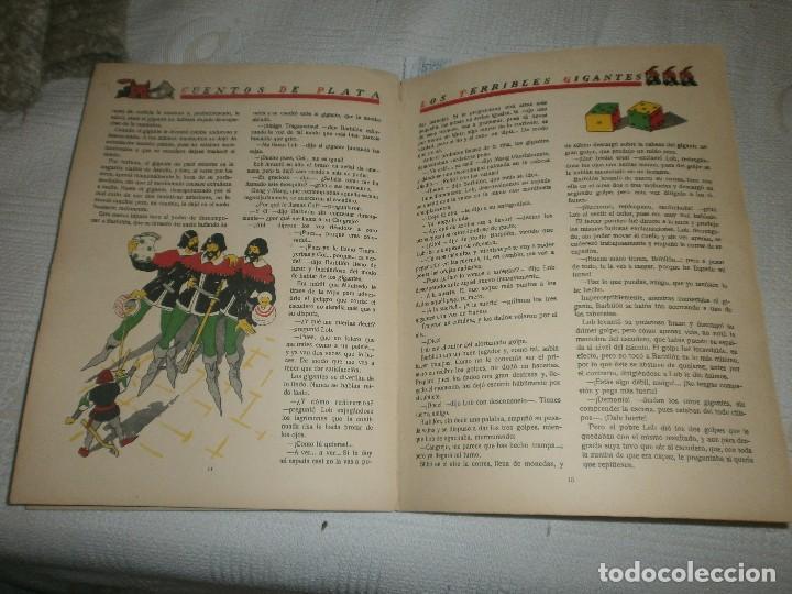 Libros de segunda mano: LOS TERRIBLES GIGANTES BARBUDOS. CUENTOS DE PLATA. ED. SATURNINO CALLEJA (1940) - Foto 3 - 61543956