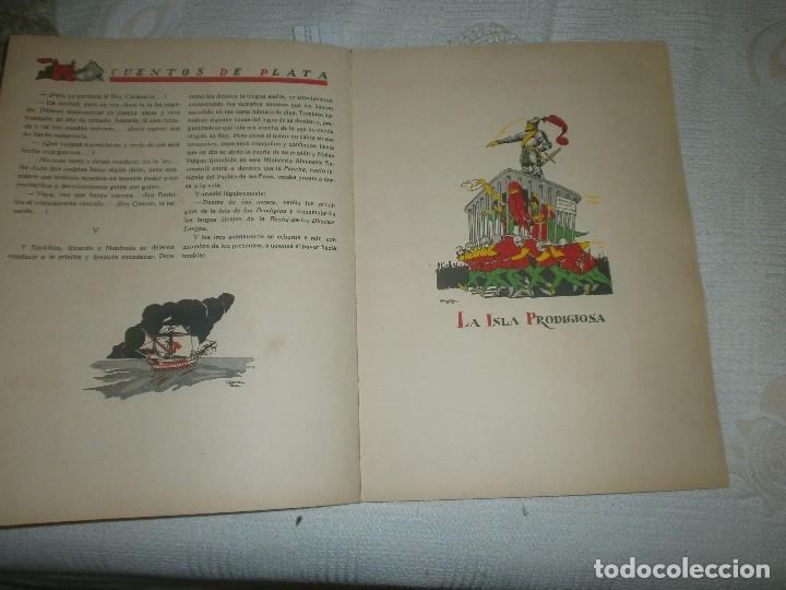 Libros de segunda mano: LOS TERRIBLES GIGANTES BARBUDOS. CUENTOS DE PLATA. ED. SATURNINO CALLEJA (1940) - Foto 4 - 61543956