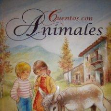 Libros de segunda mano: CUENTOS CON ANIMALES GUADALUPE GUARDIA SERVILIBRO. Lote 61611576