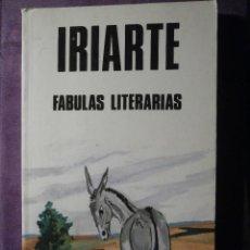 Libros de segunda mano: LIBRO - FABULAS LITERARIAS - IRIARTE - EDICIONES BUSMA 1984 - 123 PAGINAS -. Lote 61645948