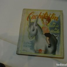 Libros de segunda mano: CUCHIFRITIN EN CASA DE SU ABUELO, ELENA FORTUN, AGUILAR, 1957. Lote 62174396