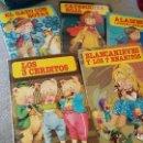 Libros de segunda mano: LOTE-LOS 3 CERDITOS-CAPERUCITA ROJA-EL GATO CON BOTAS-ALADINO Y LA LAMPARA MARAVILLOSA-ALADINO. Lote 91969345