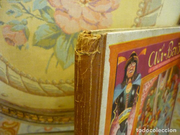 Libros de segunda mano: COLECCIÓN TEATRINES: ALÍ-BABÁ Y LOS CUARENTA LADRONES. DESPLEGABLE EN TRES DIMENSIONES. 1.951. - Foto 8 - 62673688