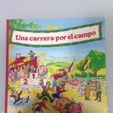 Libros de segunda mano: LIBRO,CUENTO,UNA CARRERA POR EL CAMPO,ILUSTRACIONES:DIETER BÜSCH,UN IRROMPIBLE MONTENA-MONDIBERICA. Lote 63139236
