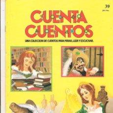 Libros de segunda mano: CUENTA CUENTOS. UNA COLECCION DE CUENTOS PARA MIRAR, LEER Y ESCUCHAR. Nº 39. SALVAT 1987(C/A27). Lote 63176256