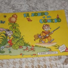 Libros de segunda mano: CUENTO EL ZORRO Y EL CONEJO ALBUMES INFANTILES EDICIONES TORAY 1960 Nº6. Lote 63492676
