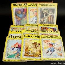 Libros de segunda mano: 8103 - EDITORIAL MOLINO. 12 EJEMPLARES. (VER DESCRIPCIÓN). VV. AA. 1938/1944.. Lote 63713975