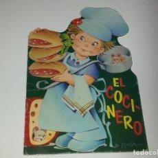 Libros de segunda mano: ANTIGUO CUENTO TROQUELADO - EL COCINERO - EDITORIAL GOYA SERIE MAGDA Nº 11 AÑO1970. Lote 161192940