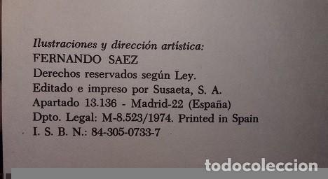 Libros de segunda mano: Ofero de Condesa de Segur. Colección Esmeralda. Ediciones Susaeta 1974. Ilustrado por Fernando Saez - Foto 4 - 64115819