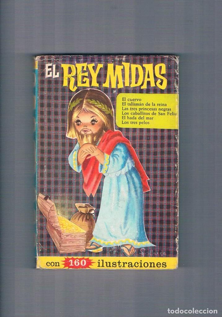 CUENTO ANTIGUO EL REY MIDAS COLECCION HEIDI EDITORIAL BRUGUERA 1966 (Libros de Segunda Mano - Literatura Infantil y Juvenil - Cuentos)