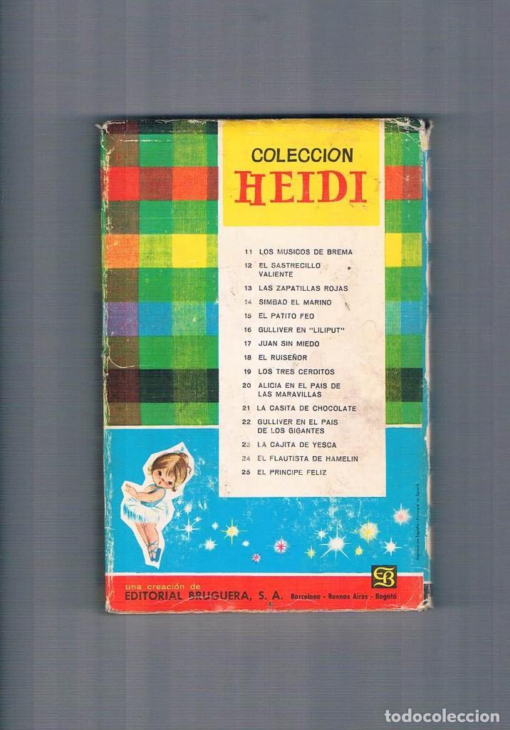 Libros de segunda mano: CUENTO ANTIGUO EL REY MIDAS COLECCION HEIDI EDITORIAL BRUGUERA 1966 - Foto 2 - 64384319