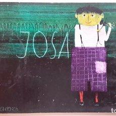 Libros de segunda mano: JOSA I EL VIOLÍ MÀGIC. JANOSCH. LUMEN. 1A ED 1964. TRAD M. MARTÍ I POL. CARTONÉ ILUSTRADO. CATALÀ. Lote 64595635