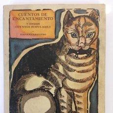Libros de segunda mano: CUENTOS DE ENCANTAMIENTO Y OTROS CUENTOS POPULARES, FERNAN CABALLERO, AÑO 1986. Lote 64759219