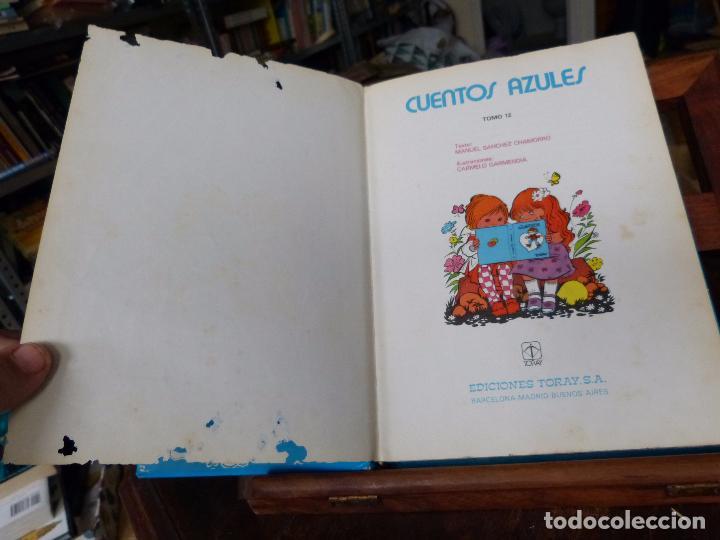 Libros de segunda mano: CUENTOS AZULES: MARIA PASCUAL (TAPA DURA, TORAY) - Foto 4 - 152729497