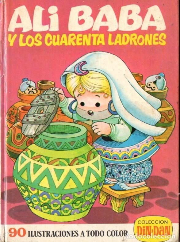 ALI BABA Y LOS CUARENTA LADRONES (BRUGUERA, 1974) ILUSTRADO POR JAN (Libros de Segunda Mano - Literatura Infantil y Juvenil - Cuentos)