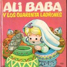 Libros de segunda mano: ALI BABA Y LOS CUARENTA LADRONES (BRUGUERA, 1974) ILUSTRADO POR JAN. Lote 64971863