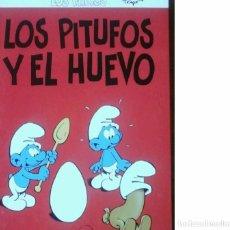 Libros de segunda mano: LOS PITUFOS Y EL HUEVO. Lote 67296609