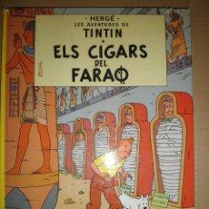 Libros de segunda mano: TINTIN ELS CIGARS DEL FARAO 1985. Lote 67310041