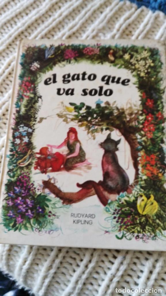 EL GATO QUE VA SOLO - COLECCION ESMERALDA--EDIC. SUSAETA S.A. 1974-- (Libros de Segunda Mano - Literatura Infantil y Juvenil - Cuentos)