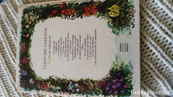 Libros de segunda mano: EL GATO QUE VA SOLO - COLECCION ESMERALDA--EDIC. SUSAETA S.A. 1974-- - Foto 4 - 67719541