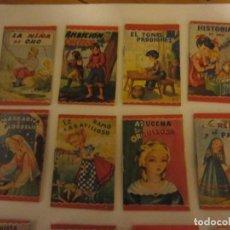Libros de segunda mano: 13 CUENTOS MINIATURA EDITORIAL ROMA 1961- VER TITULOS. Lote 67860617